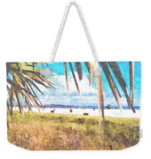 Siesta Key In Fall Weekender Tote Bag