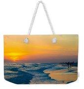 Siesta Key Sunset Walk Weekender Tote Bag