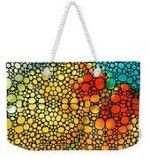 Siesta Sunrise - Stone Rock'd Art Painting Weekender Tote Bag