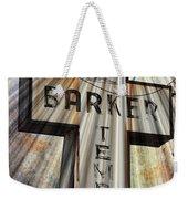 Sign - Barker Temple - Kcmo Weekender Tote Bag