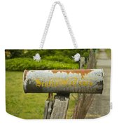 Sign Of The Times Seattle Times Weekender Tote Bag