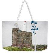 Cabot Tower Weekender Tote Bag