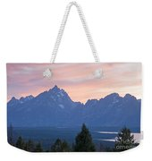 Signal Mountain Grand Teton National Park Weekender Tote Bag