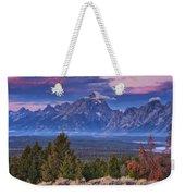 Signal Mountain Sunrise Weekender Tote Bag