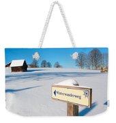 Signpost Weekender Tote Bag