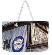 Signs In Old Cottonwood Weekender Tote Bag