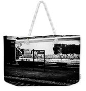 Signs Monochrome Weekender Tote Bag