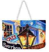 Signs Of Bourbon Street Weekender Tote Bag
