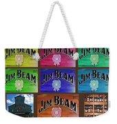 Signs Of Jim Beam Weekender Tote Bag