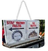 Signs Of John Weekender Tote Bag