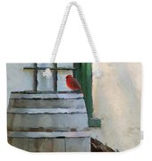 Signs Of Spring Weekender Tote Bag by Ron Jones