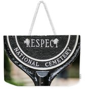 Silence And Respect Weekender Tote Bag by Steve Gadomski