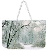 Silence Of Winter Weekender Tote Bag