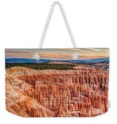 Silent City @ Sunrise Weekender Tote Bag