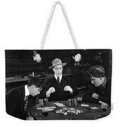 Silent Film Still: Gambling Weekender Tote Bag