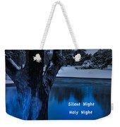 Silent Night Weekender Tote Bag by Betty LaRue