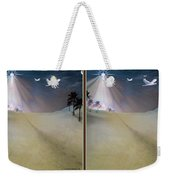 Silent Night - Gently Cross Your Eyes And Focus On The Middle Image Weekender Tote Bag