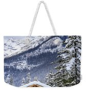 Silent Winter Weekender Tote Bag
