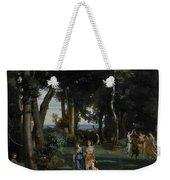 Silenus Weekender Tote Bag by Jean Baptiste Camille Corot