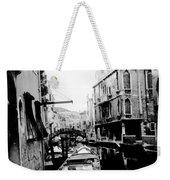 Silenzio Venice Italy Weekender Tote Bag