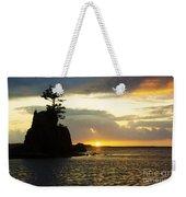 Siletz Bay Sunset Oregon 1 Weekender Tote Bag