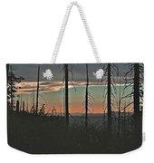 Silhouette @ Yosemite Weekender Tote Bag
