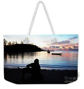 Silhouette At Sunrise Weekender Tote Bag