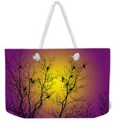 Silhouette Birds Weekender Tote Bag by Christina Rollo