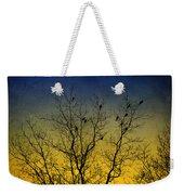 Silhouette Birds Sequel Weekender Tote Bag
