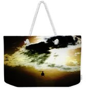 Silhouette Cloud Weekender Tote Bag