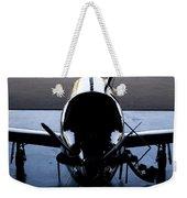 Silhouette Hanger Weekender Tote Bag