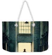 Silhouette In Doorway Weekender Tote Bag
