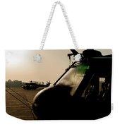 Silhouette Of Hellenic Air Force Search Weekender Tote Bag