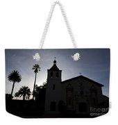 Silhouette Of Mission Santa Clara Weekender Tote Bag