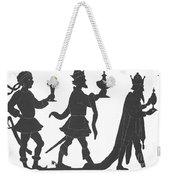 Silhouette Of Three Kings Weekender Tote Bag