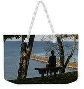 Silhouette On The Hill Weekender Tote Bag