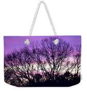 Silhouettes Against Pink Skies Weekender Tote Bag