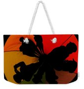 Silhouettes Around The Balloon Weekender Tote Bag