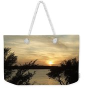 Silhouettes Of Sunset Weekender Tote Bag
