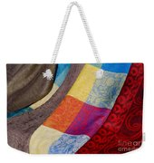 Silk And Wool Weekender Tote Bag
