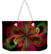 Silk Butterfly Abstract Weekender Tote Bag