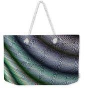 Silk Fabric Weekender Tote Bag