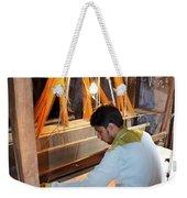 Silk Weaver - Varanasi India Weekender Tote Bag