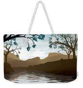 Silkscreen Weekender Tote Bag by Cynthia Decker