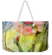 Silky Almond Flower Weekender Tote Bag