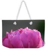 Silky Pink Petals Weekender Tote Bag