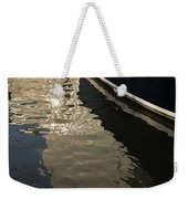 Silky Swirls And Zigzags - A Waterfront Abstract Weekender Tote Bag