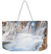 Silky Waterfall Splash Weekender Tote Bag