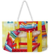 Silla De La Cocina--kitchen Chair Weekender Tote Bag