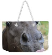 Silly Horse Weekender Tote Bag
